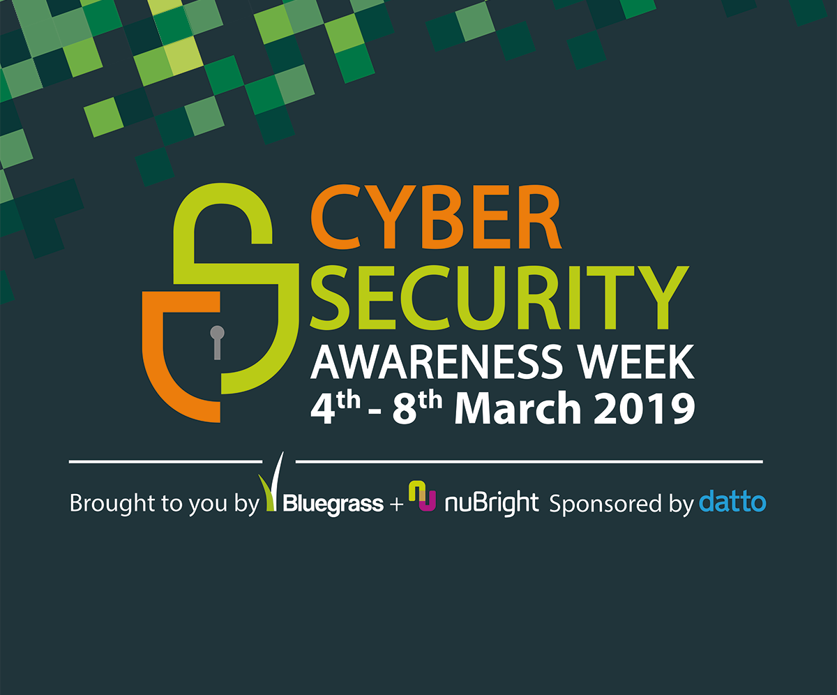 Cyber Security Awareness Week 2019