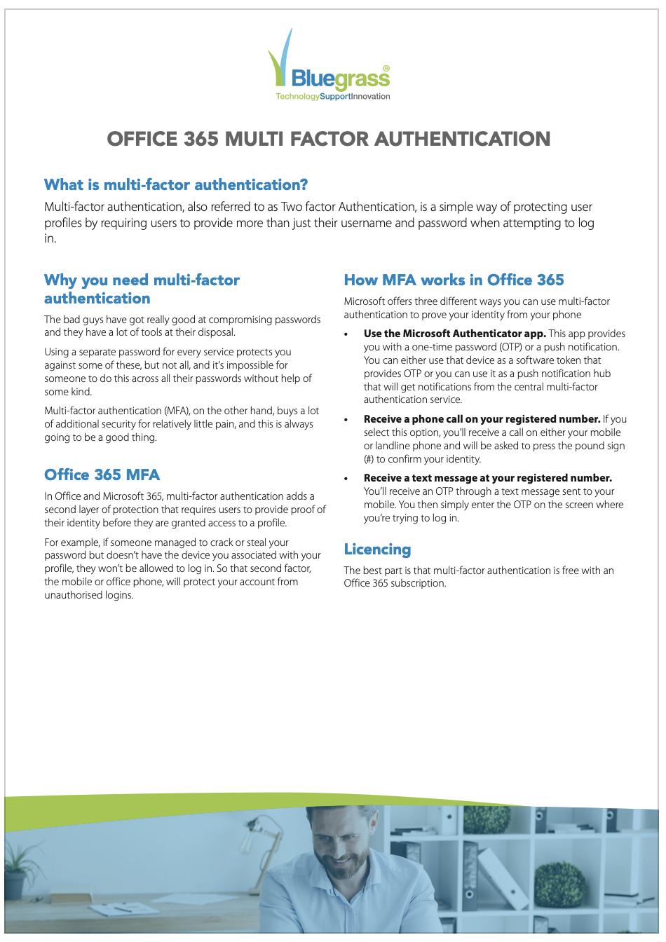 Office 365 MFA