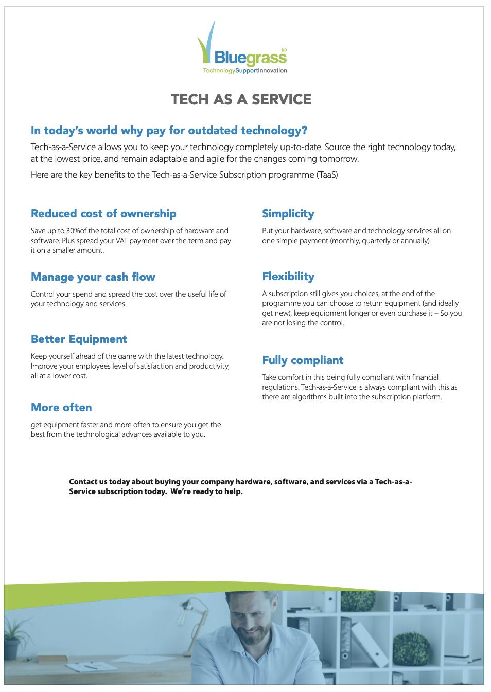 Tech as a Service