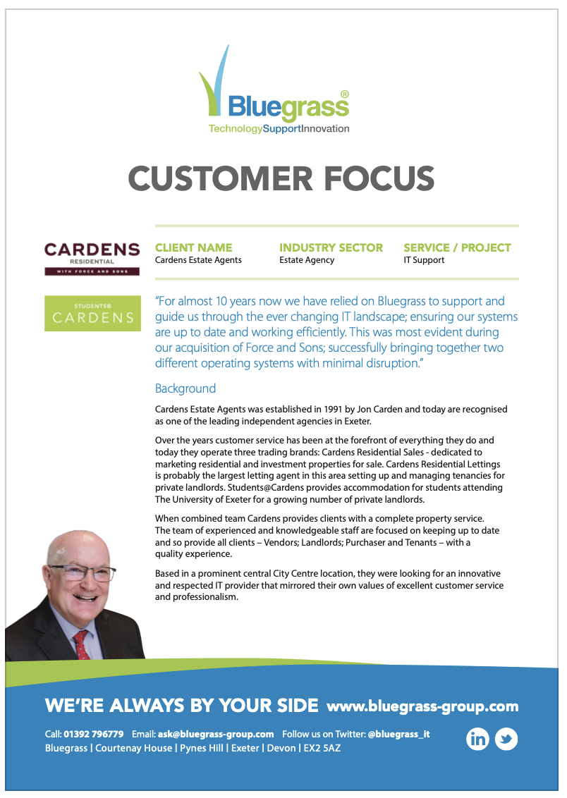 Cardens case study