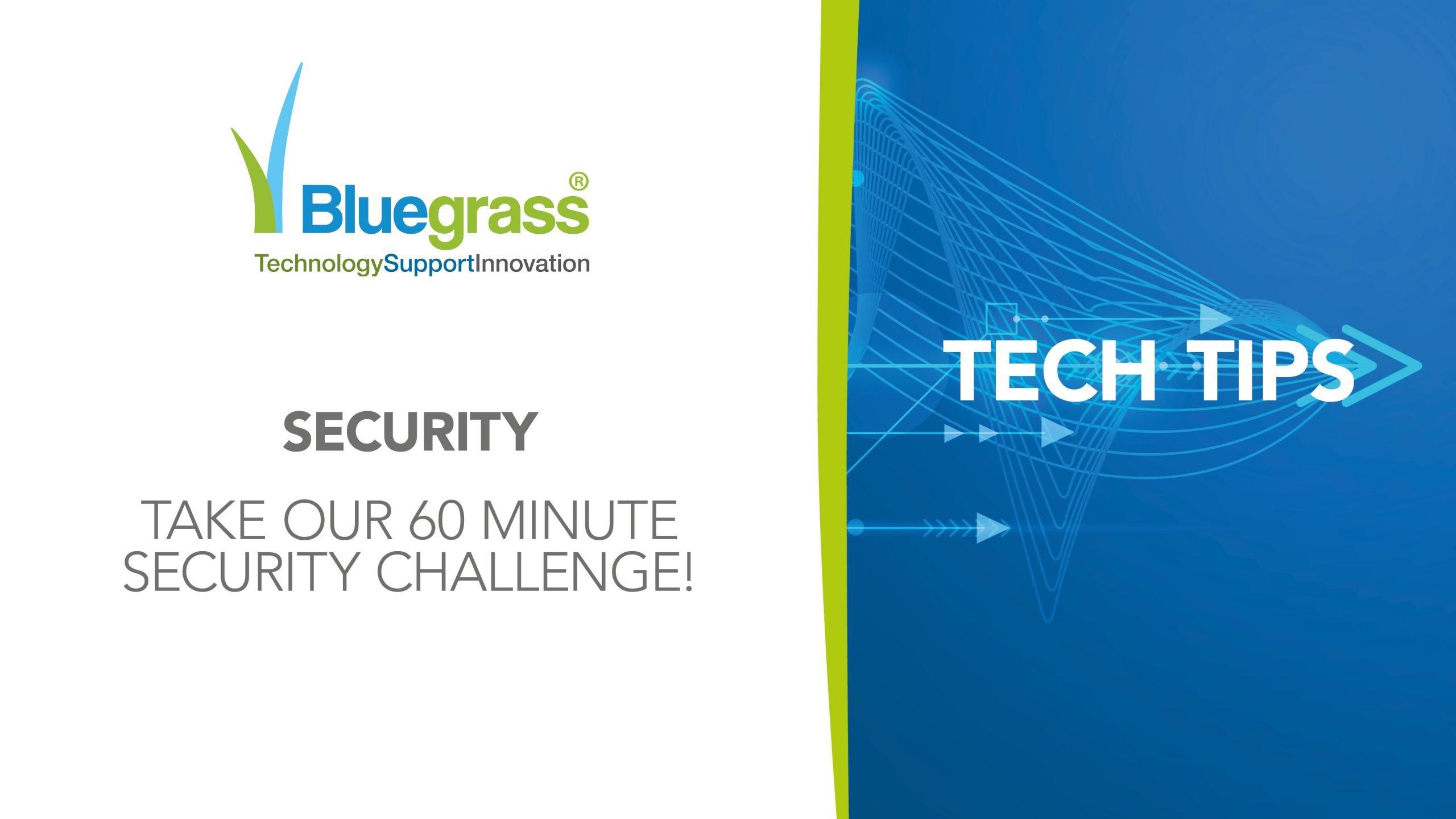 Tech tips 60 mins challenge