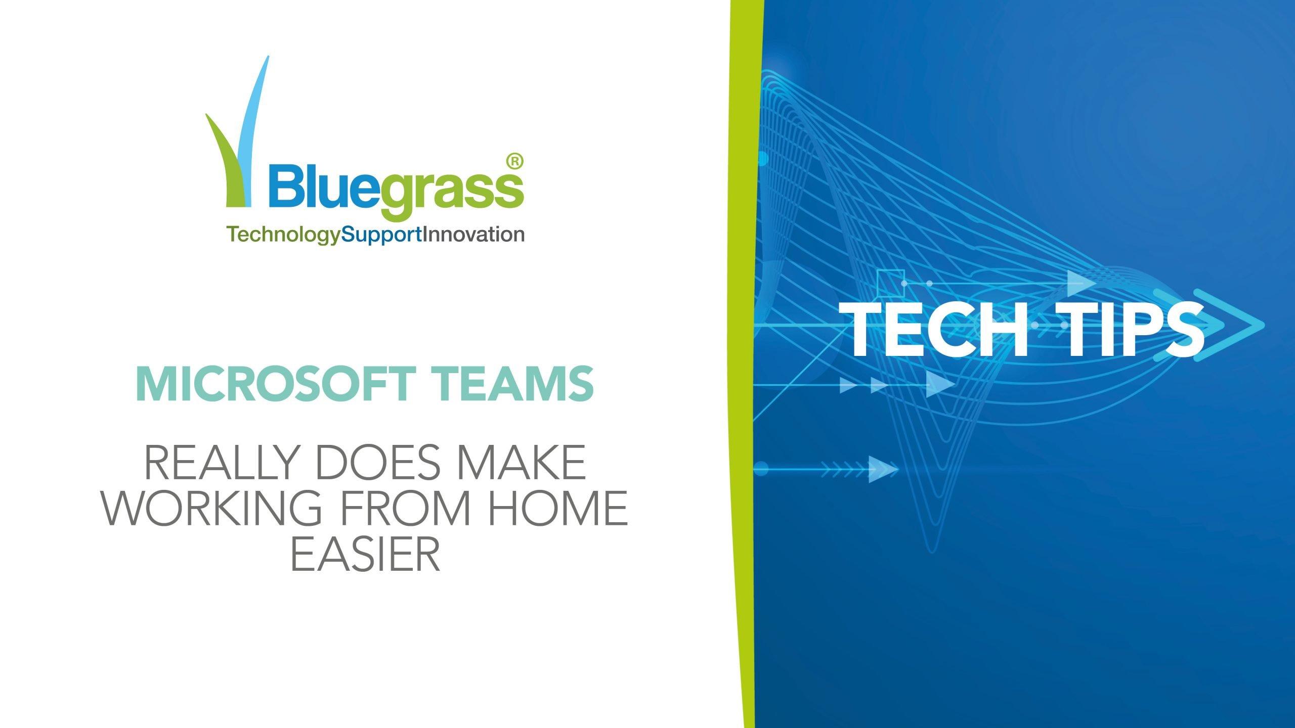 Tech tips MS Teams and WFH