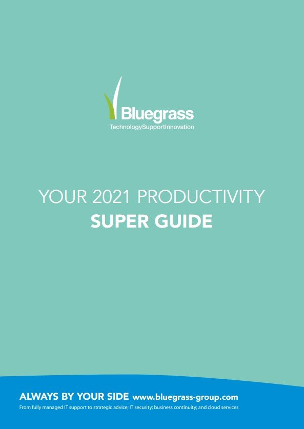 Bluegrass Group Super Productivity Guide