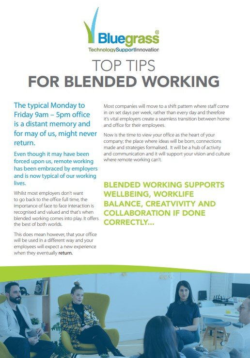 Tips for Blended Working